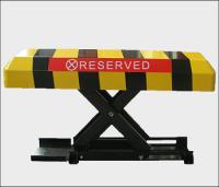 Remote control car parking lock parking barrier