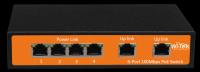 6-Port 48V 100Mbps PoE