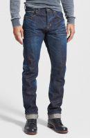 'Demon' Slim Straight Leg Selvedge Jeans