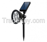 2W solar led light for wall and outdoor garden grassland