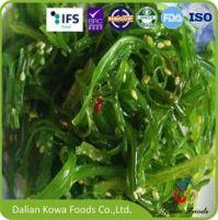 Frozen seasoned seaweed salad