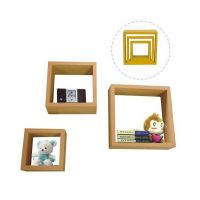 pve laminated cube shelf