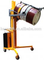 300kg lifting capacity semi-electri drum palletizer with battery power drum lift
