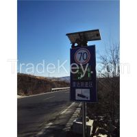 solar powered speed limit traffic signals for sale