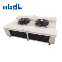 ss tube fin type heat exchange coil evaporator air cooler for beef cold storage room