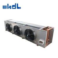 water defrost copper tube evaporator air cooler for cool room