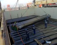 Steel Pipes Break Bulk Shipping