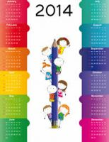Customized Color Printing Calender