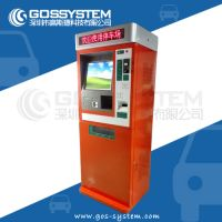 Competitive Price Park Automatic Touch Screen Ticket Vending Machine