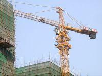 QTZ100(5516) tower crane , hoist