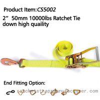 CS5002 2� 50mm 10000lbs Ratchet Tie down high quaility