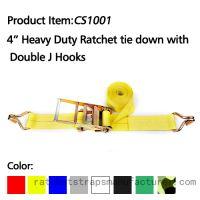 CS1001 4� 20000lbs heavy duty ratchet straps