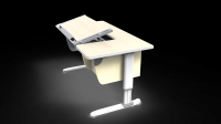 Ergonomic Adjustable Study Desk ZBL