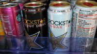 Energy drinks for sale