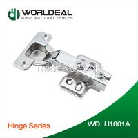 Shanghai worldeal Furniture cabinet hinge soft closing / one way / two way hinge