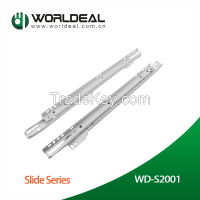 Furniture drawer slide FGV type with ABS wheel
