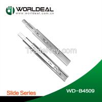 Furniture heavy duty drawer slide ball bearing slide soft closing