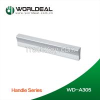 Furniture hardware Aluminium cabinet door pull handle and knobs