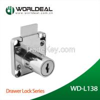 Furniture hardware computer key drawer lock