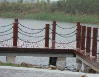 Round steel link chain
