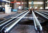 Mandrel bar for making seamless steel pipe