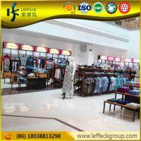 Protable retail store fixtures clothing display garment racks