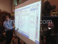 "Smart 78"" Interactive Whiteboard"
