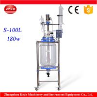 100L Jacketed Reaction Vessel for Distillation