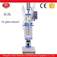 Chemical Jackedted Glass Reactor