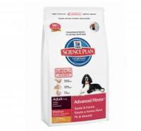 HILLS SCIENCE PLAN ADULT MEDIUM BREED CHICKEN DOG FOOD 14.5 KG