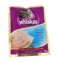 WHISKAS CAT FOOD OCEAN FISH, 85 G (PACK OF 5)
