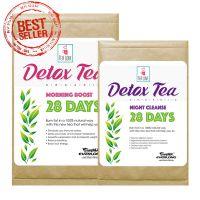100% Organic Herbal Detox Tea Slimming Tea Weight Loss Tea (28 day program)