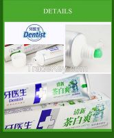 168g Whitening and Green tea mint toothpaste