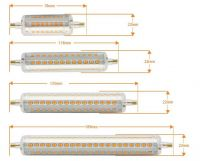 135mm LED R7S Bulb 12W to replace 120W