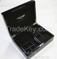 Luxury wooden gift box wooden jewelry storage box for sale