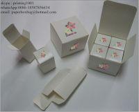 black paper box Jewel gift box Essential oil