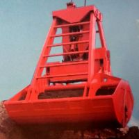 Port Loading & Unloading Ship Unloader Crane Grab Bucket