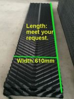 Hot sell pvc fills sheet for counter flow cooling tower fill