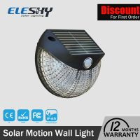 2016 CE Rohs ABS IP65 2W Wall Mounted Solar Led Wall Light For Garden
