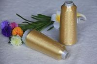 copper color  Ms type metallic yarn  for embroidery