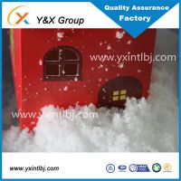 Christmas decorations artificial snow