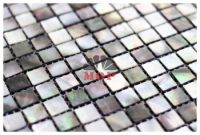 mother of pearl tile wall mosaic bathroom