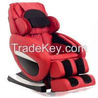 Zero-Gravity Massage Chair with foot Roller  (PU leathe