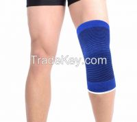 Elastic New sport yoga blue knee cap knee wraps knee pads knee protect