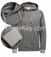Plain color 100% cotton man sweatshirt hoodie