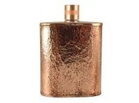 Pure Copper Hip Flask