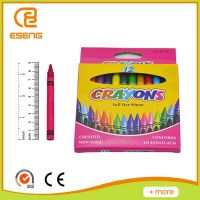 E Seng hot sell 6 colors little kids painting crayons