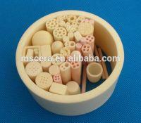 High Temperature 1800C Al2o3 Ceramic Tubes