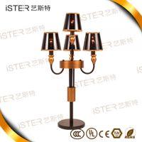 NEW!Hot sale hotel golden chandeliers modern 10 pendant lights