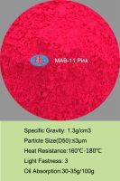 Fluorescent Pigment for polymer masterbatch, plastic, PVC, paint, coating, ink